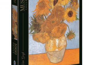 Los Girasoles – Van Gogh – 1000 piezas – Clementoni – Museum Collection Ref 31438