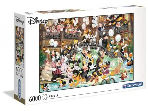 Disney Gala 2020 – 6000 piezas – Clementoni High Quality Collection Ref 36525