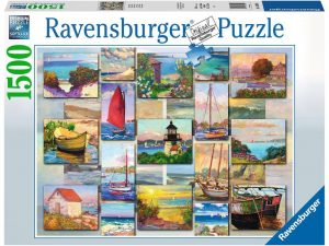 Collage costero – 1500 piezas – Ravensburger 16 820 0