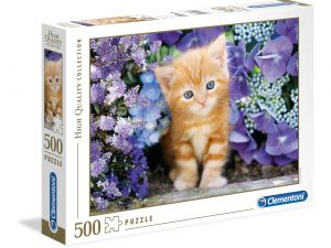 Ginger cat  – 500 piezas – Clementoni – High Quality Collection Ref 35415