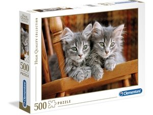 Kittens – 500 piezas – Clementoni – High Quality Collection Ref 35545