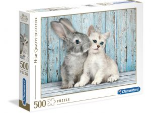 Cat & Bunny – 500 piezas – Clementoni – High Quality Collection Ref 35004