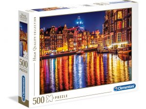 Amsterdam – 500 piezas – Clementoni – High Quality Collection Ref 35037