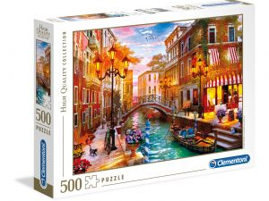 Sunset over Venice – 500 piezas – Clementoni – High Quality Collection Ref 35063