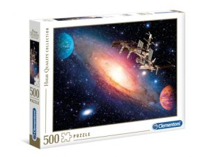 International Space Station – 500 piezas – Clementoni – High Quality Collection Ref 35075