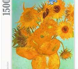 Vincent Van Gogh: Los girasoles – Art Collection – 1500 piezas – Ravensburger Ref 16 206 2