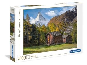 Fascination with Matterhorn – 2000 piezas – Clementoni – High Quality Collection Ref 32561