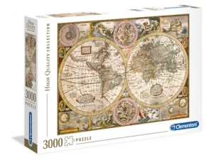 Mapa Antiguo – 3000 piezas – Clementoni – High Quality Collection Ref 33531
