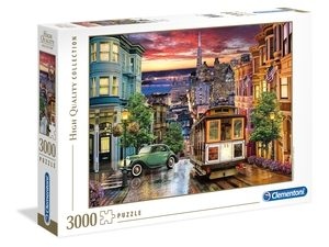 San Francisco – 3000 piezas – Clementoni – High Quality Collection Ref 33547
