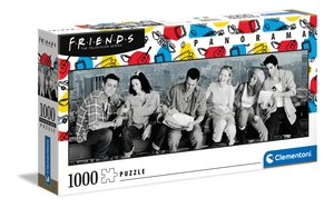 Friends – Panorama –1000 piezas – Clementoni – Ref 39588