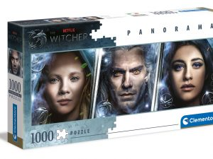 The Witcher – Panorámico – 1000 piezas – Clementoni – Ref 39593