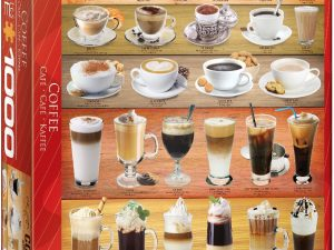 Coffee – 1000 piezas – Smart Cut – Eurographics Ref 6000-0589