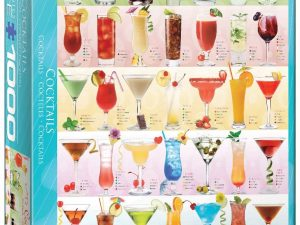 Cocktails – 1000 piezas – Smart Cut – Eurographics Ref 6000-0588