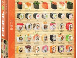 Sushi – 1000 piezas – Smart Cut – Eurographics Ref 6000-0597