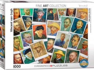 Van Gogh Selfies – 1000 piezas – Smart Cut – Eurographics Ref 6000-5308